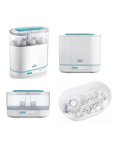 Philips Avent 3-in-1 Electric Steam Steriliser + Free Gifts