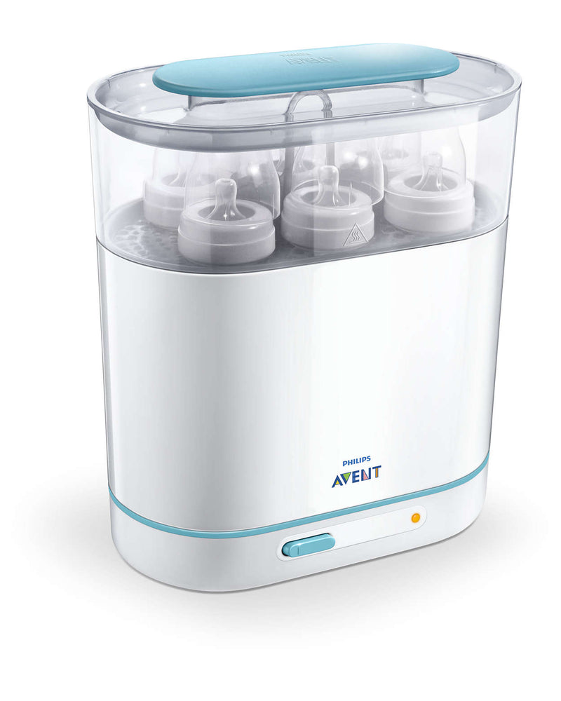 Philips Avent 3-in-1 Electric Steam Steriliser + Free Food Container