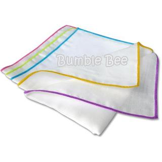 Bumble Bee Cotton Gauze Face Cloth (5pcs)