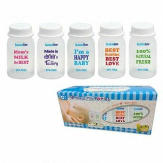 Bumble Bee Breastmilk Bottles 10s