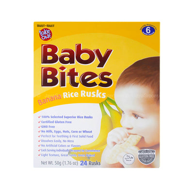 Take One Baby Bites Baby Rusks ( Assorted )