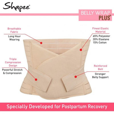 Shapee Belly Wrap Plus [Assorted]