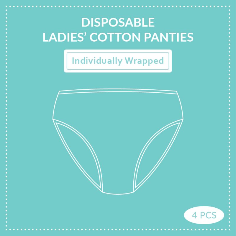 Shapee Disposable Ladies Cotton Panties