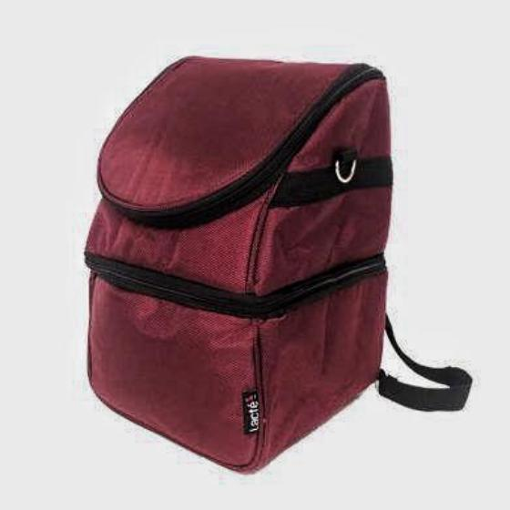 Lacte Mobi Breast Pump Cooler Bag (Auburn Red)