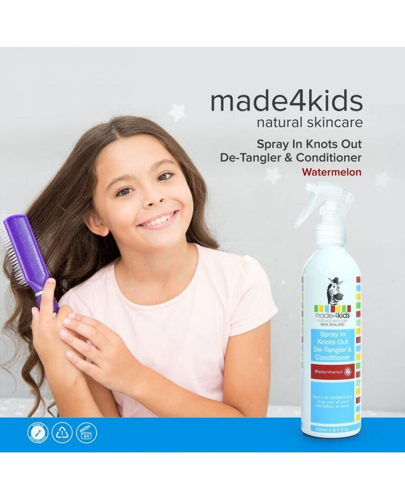 made4kids Spray In Detangler & Conditioner (Watermelon) 250ml