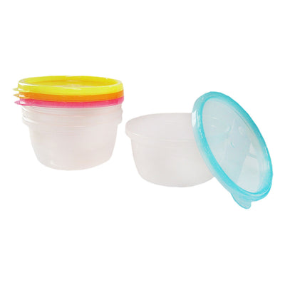 Simple Dimple Round Containers (Large)