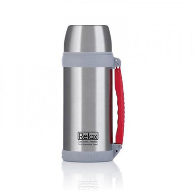 Relax Stainless Steel Travelling Flask 1500ml (Silver)