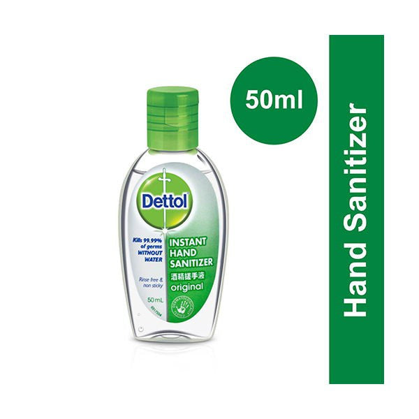 Dettol Instant Hand Sanitizer Original [50ml]