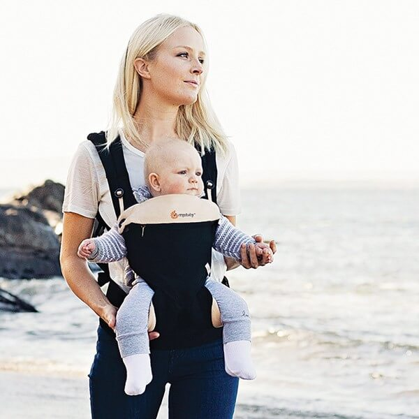 Ergo Baby 360 Baby Carrier [Black Camel/Grey]