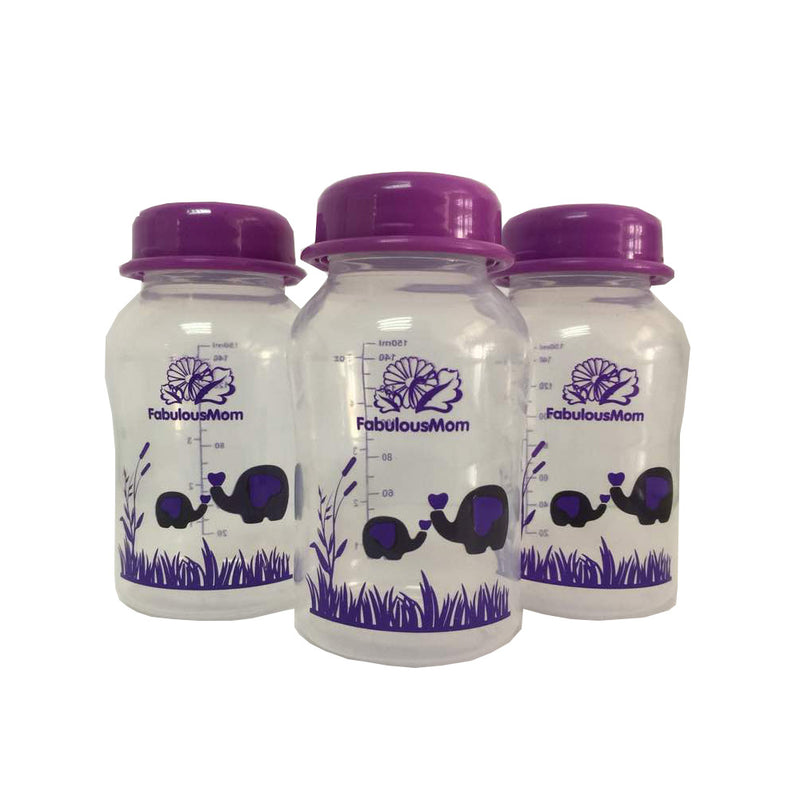 Fabulous Mom Breastmilk Storage Bottle 4s