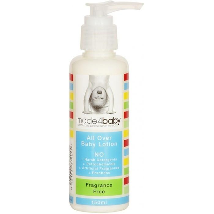 made4baby All Over Baby Lotion 150ml (Fragrance Free)