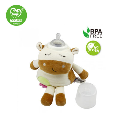 Haaka Meemoo Organic Cotton Soft Toy Bottle Cover