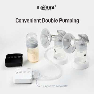 Haenim 7A Lite Double Breast Pump + FREE Gifts + 1 Year Service Warranty
