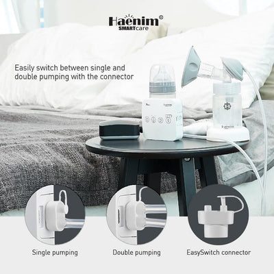 Haenim 7A Lite Double Breast Pump + Free Gifts