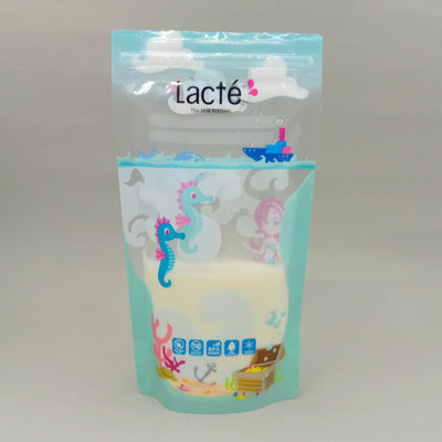Lacte Thermal Sensor Breastmilk Storage Bag (6oz) (25pcs) (Mystical Sea)