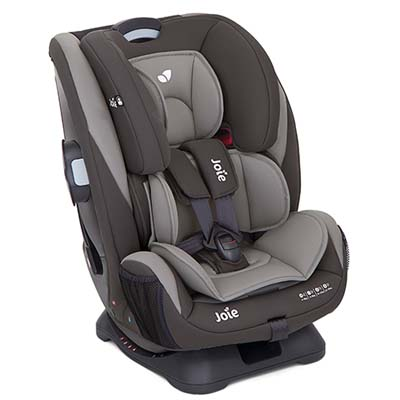Joie Every Stage Convertible Car Seat ( Dark Pewter ) + RM20 Fuel Card [1 Year Warranty]
