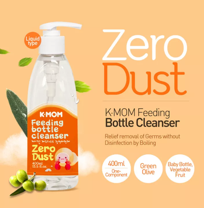 K-Mom Zero Dust Feeding bottle cleanser (400ml)