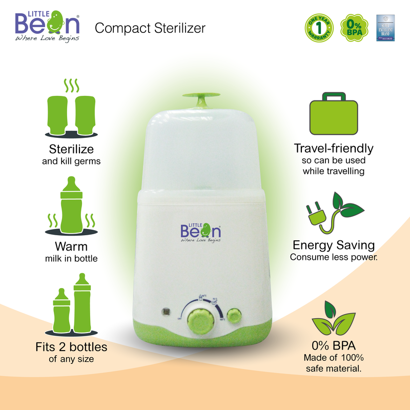 Little Bean Compact Sterillzer + Warmer