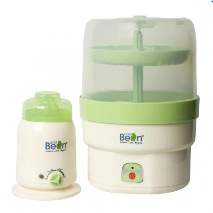 [Promo Code: FM4.4] Little Bean Steriliser & Warmer Combo