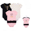 Luvable Friends Bodysuit 3pk (Life Is Better In A Tutu)