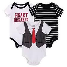 Luvable Friends Bodysuit 3pk (Heart Breaker)
