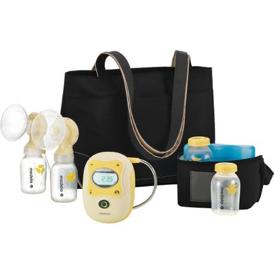 Medela Freestyle Rechargeable Breast Pump + FREE Silicone Hands Free Cups [ 2 Year Service Warranty ]