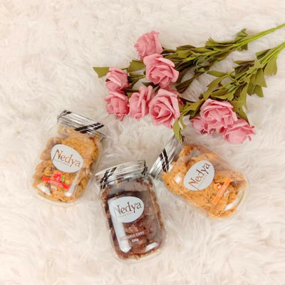 Nedya Lactation Cookies Set of 3 (Mix Flavor)