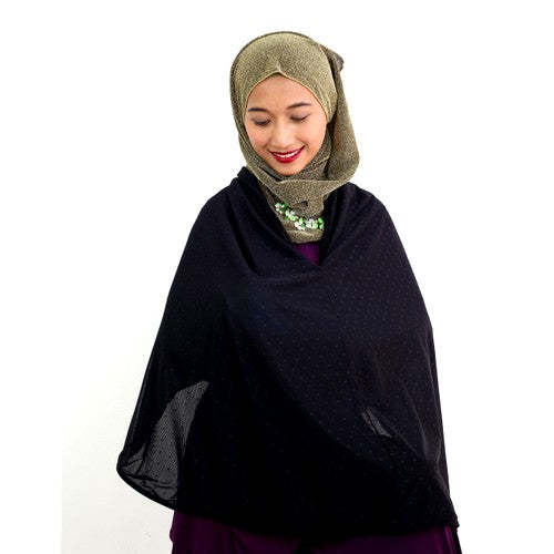 Fabulous Mom Nursing Poncho (Midnight Black)