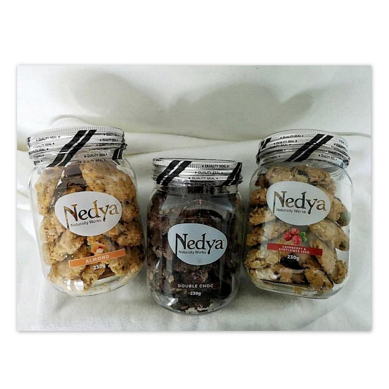 Nedya Lactation Cookies 3s (Mix Flavor)