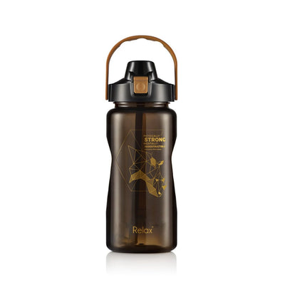 Relax Tritan Water Bottle With Straw & Hand Holder 1500ml