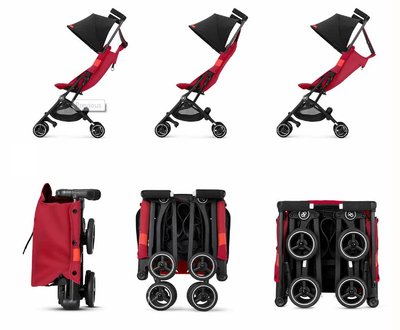 gb Pockit Plus All City Stroller + FREE Head & Body Support