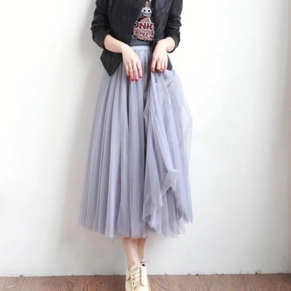 Gather Moments Tulle Skirt (Assorted)