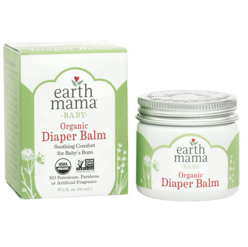 Earth Mama Baby Organic Diaper Balm 2oz (60ml)
