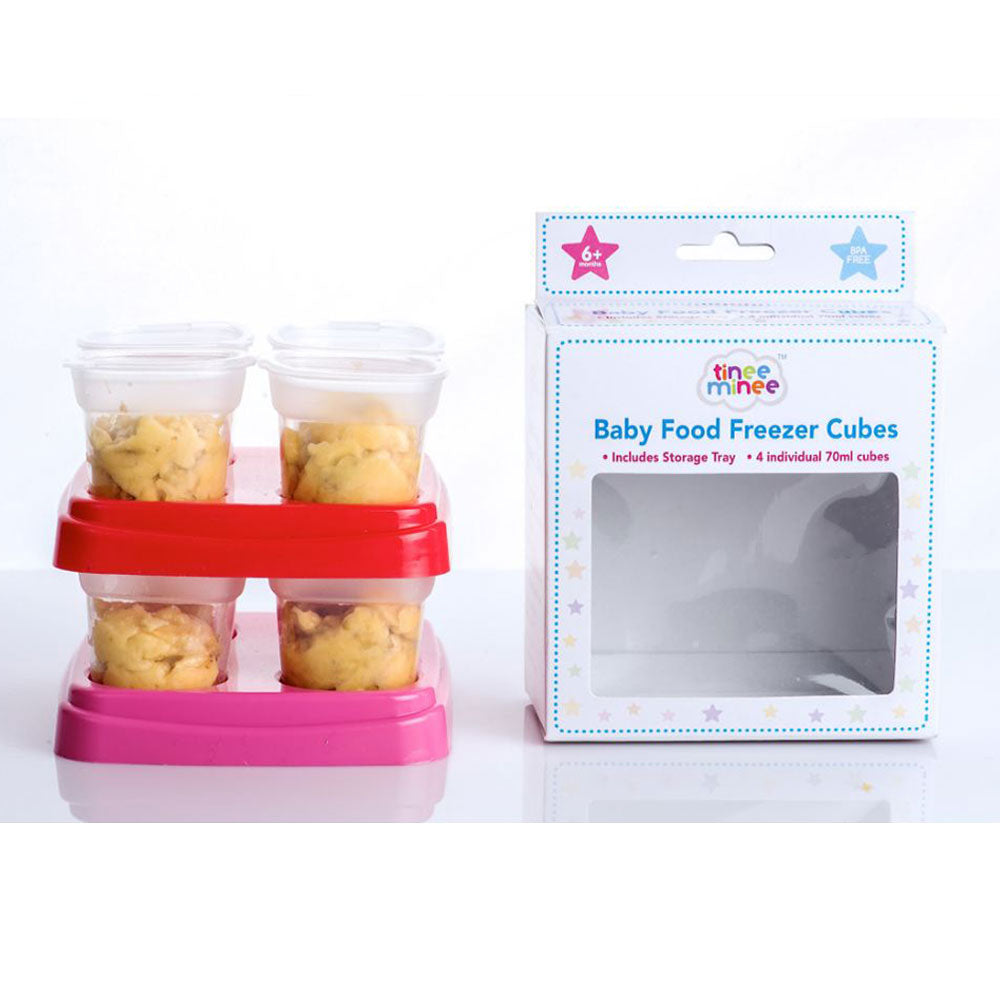 Tinee Minee Baby Food Freezer Cubes ( Assorted )