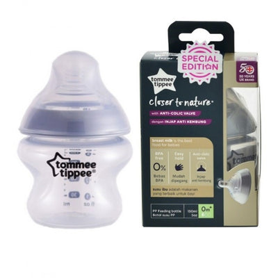 Tommee Tippee Closure To Nature 150ml Tinted PP Bottle ( Assorted)