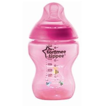 Tommee Tippee Closure To Nature 260ml Tinted PP Bottle (Magenta)