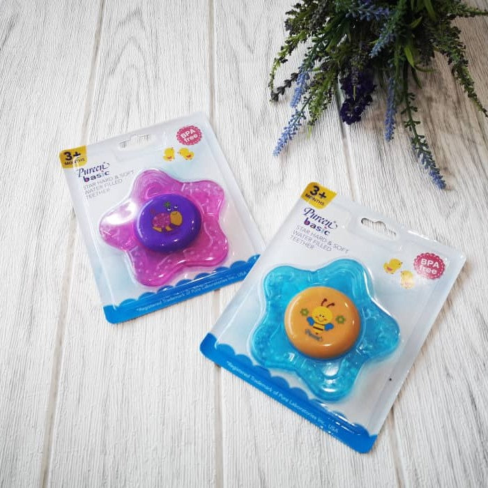 Pureen Star Hard & Soft Water Filled Teether