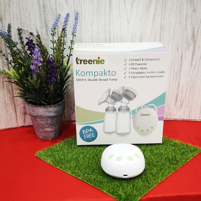 Treenie Kompakto Electric Double Breast Pump + Extra Free Gifts