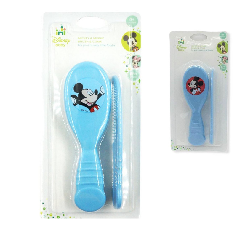 Anakku Disney Baby Mickey & Minnie Brush & Comb [Assorted]