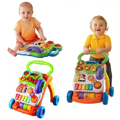 VTech Sit-To-Stand Baby Push Walker (Assorted)