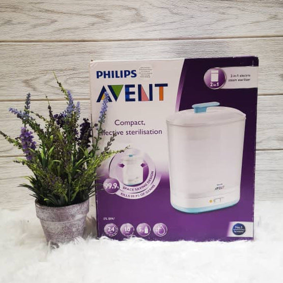 Philips Avent 2-in-1 Electric Steam Steriliser [2 Year Warranty]