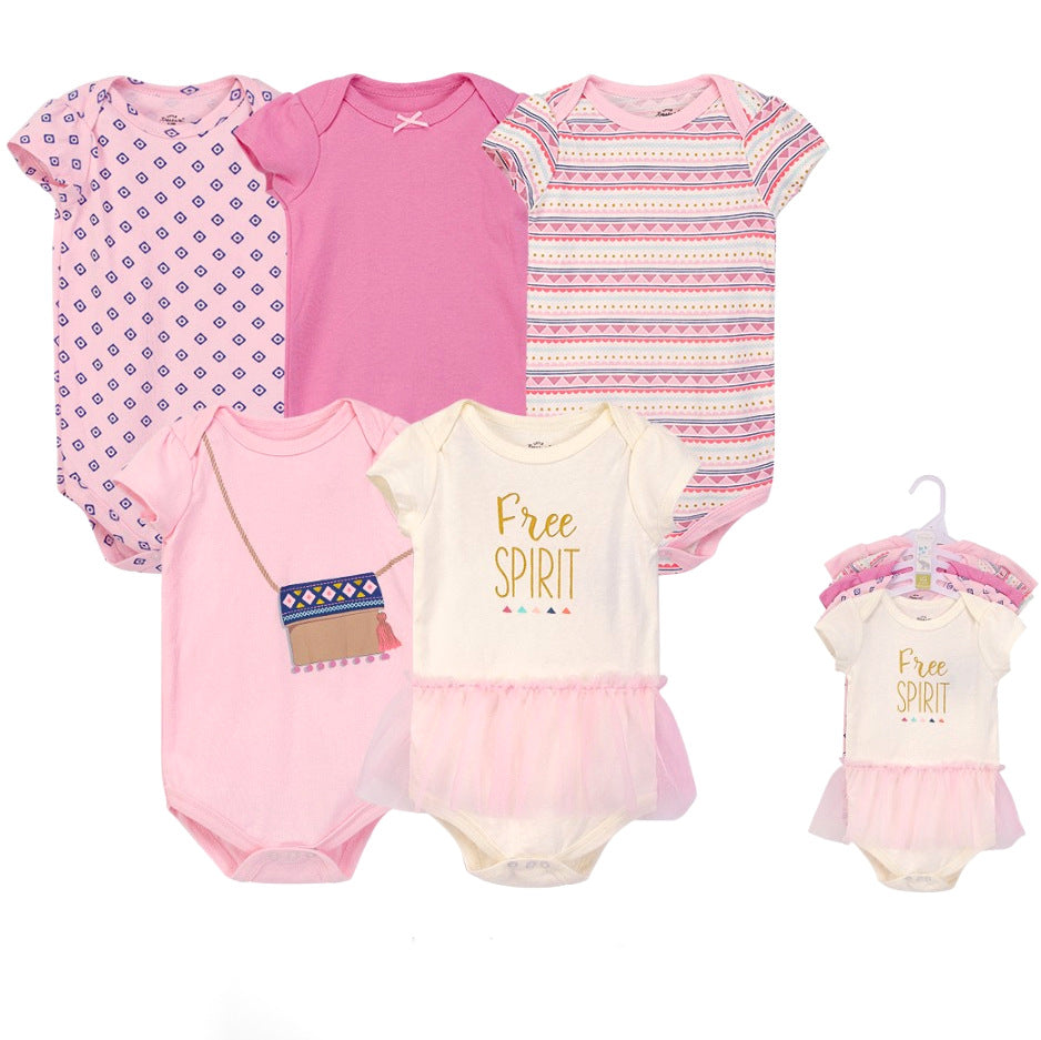Luvable Friends Bodysuit 5pk (Free Spirit)