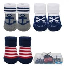Luvable Friends 3pc Baby Socks Gift Set (Boys)