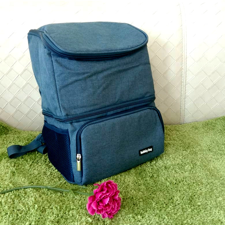 Bubbly Joy Dual Compartment Cooler Bag