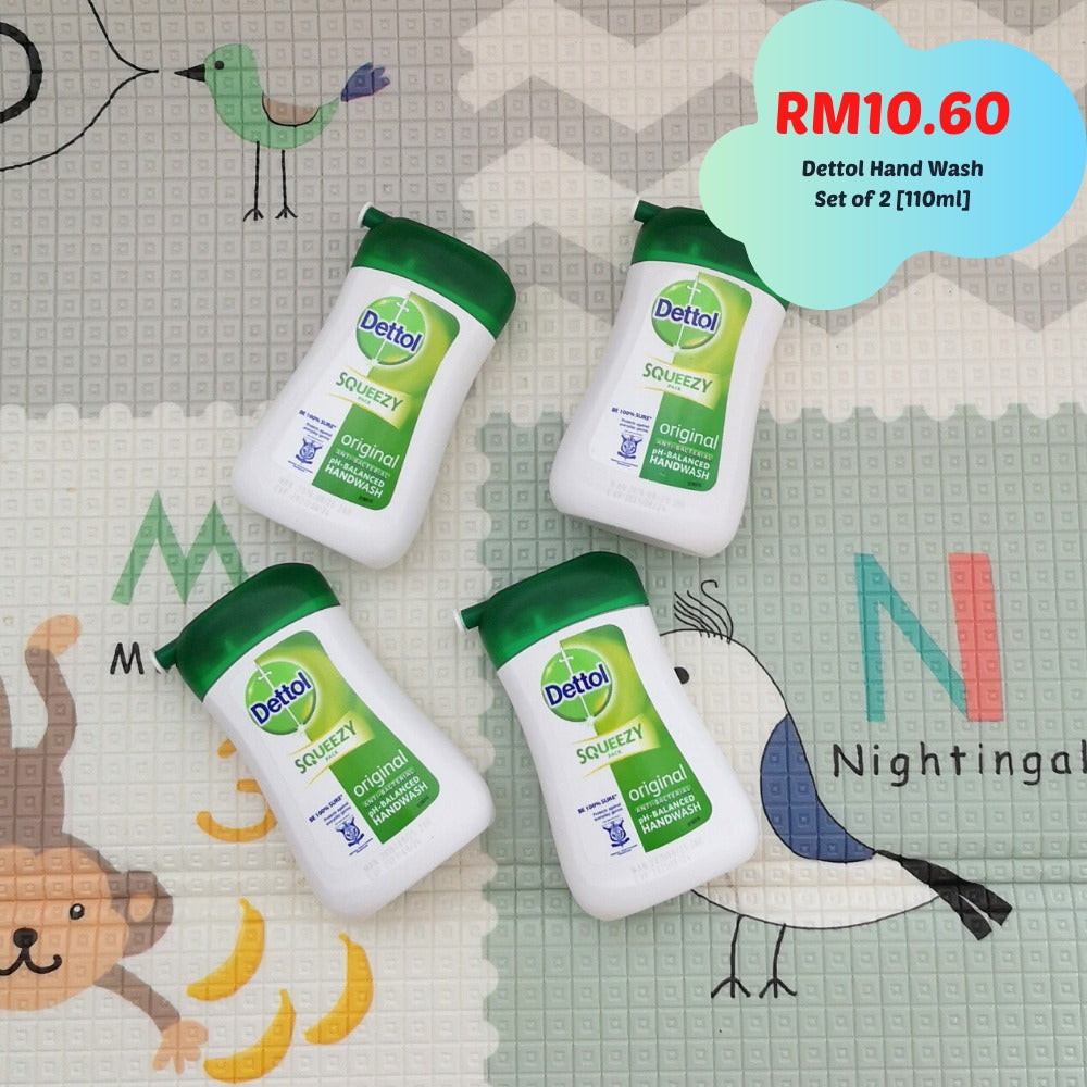 Set Of Two Dettol Anti-Bacterial Original Hand Wash [110ml]