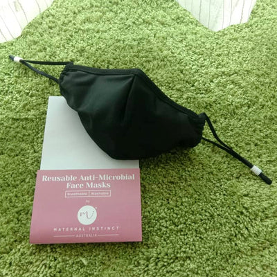 Maternal Instinct Reusable Anti-Microbial Face Mask [1pc]