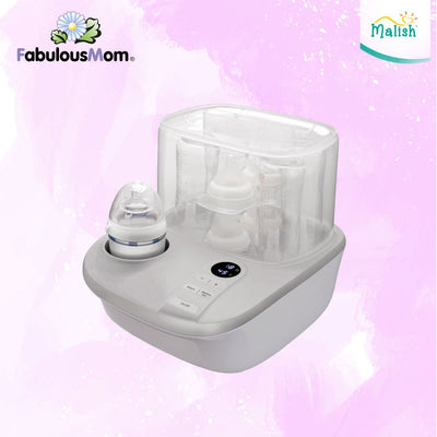 Malish Cesco Baby Bottle Steriliser 3-in-1 ( 2 Year Service Warranty )