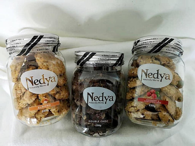 Nedya Lactation Cookies Cranberry & Sunflower Seed (230g)