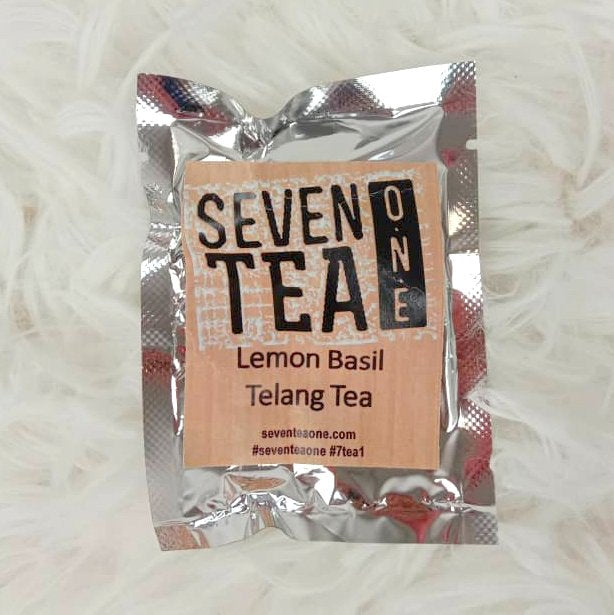 Seven Tea One Lemon Basil Telang Tea (Sachet)