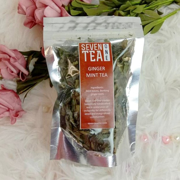 Seven Tea One Ginger Mint Tea (10g)